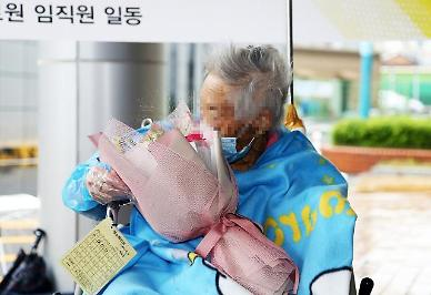 104-year-old COVID-19 patient discharged from hospital after successful treatment