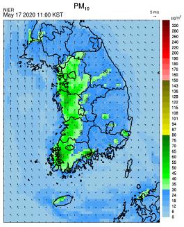 [오늘(17일) 공기 어때?] 전국 미세먼지 '보통'…오후부터 '비'