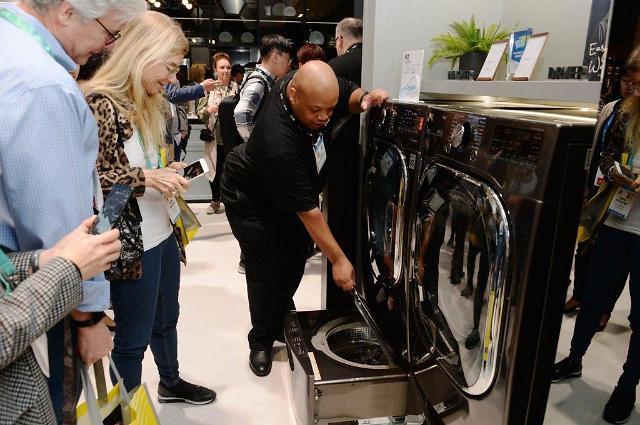 LG电子产品被《消费者报告》评为最佳洗衣机干衣机组合