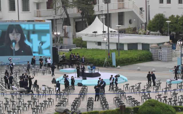 """光州""""5·18民主化运动""""40周年纪念仪式今日举行"""