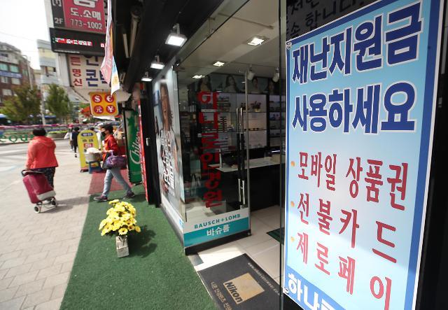 韩国已有1140万家庭领取新冠疫情补助金