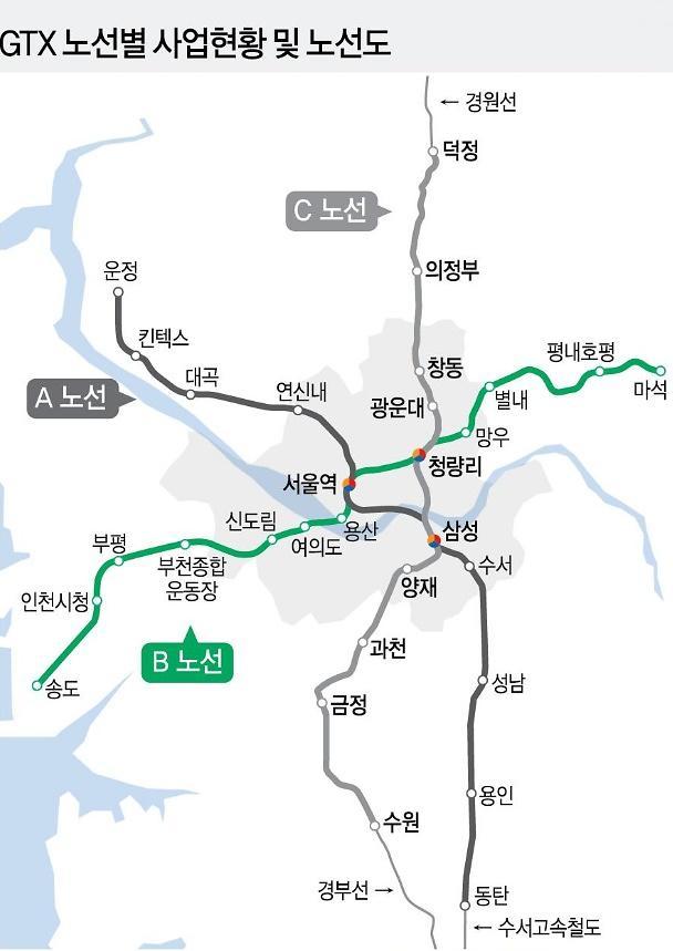 """GTX 노선따라 아파트 신고가 경신…""""섣부른 투자 조심"""""""