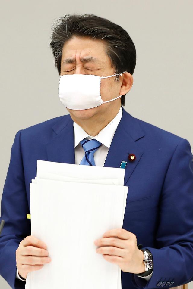 """日 아베 지지율 급락...""""코로나 무능도 모자라 사법 농단도?"""""""