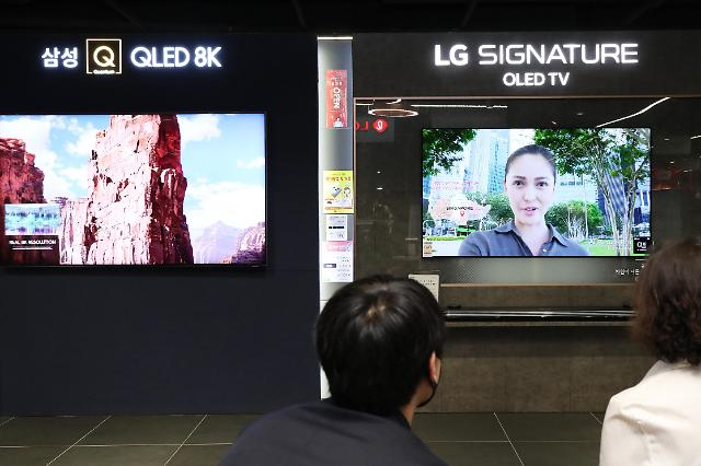 疫情下全球电视市场萎缩 韩企出货量不减反增