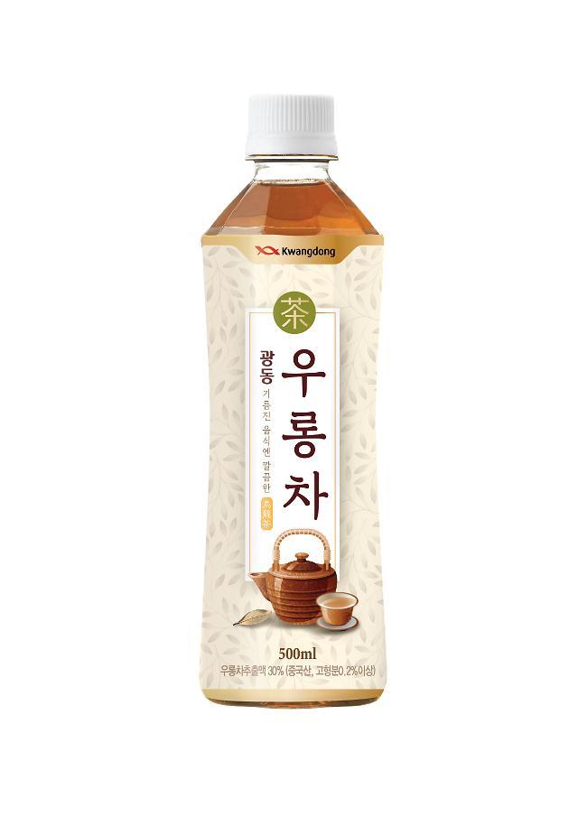 """韩国广东制药推出解腻新饮品""""广东乌龙茶"""""""