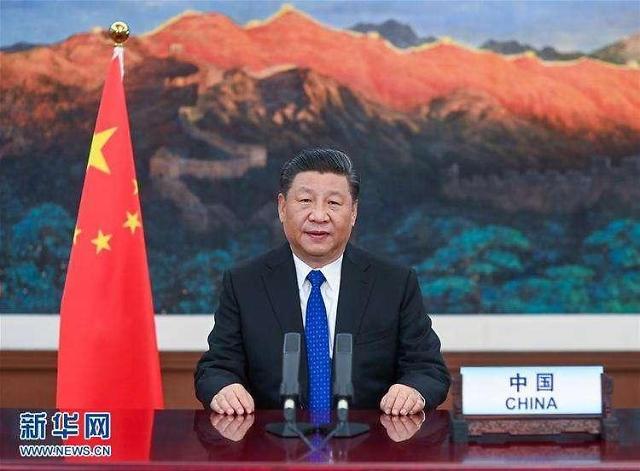 中시진핑, WHO 총회 개막식서 인류보건건강공동체 구축 촉구