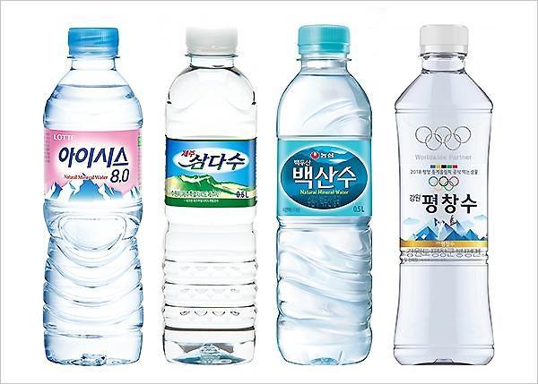 疫情致韩国矿泉水消费大增 碳酸饮料受冷落