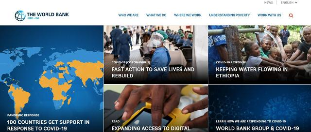 세계은행, 코로나 대응 197조 지원…북한은 제외