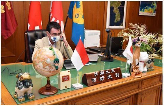 독도는 일본 땅 의도 드러낸 고노 다로 방위장관... 국방부 무시 대응