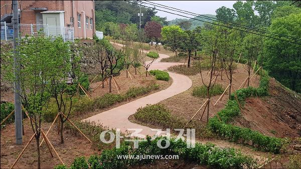 논산시, 복지시설 맞춤형 산림복지 서비스 '나눔숲'조성 완료