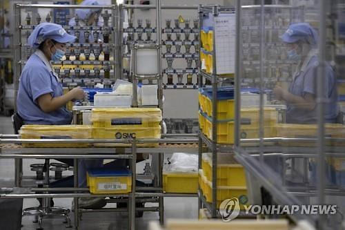 일본 5월 제조업 위축 심화...4월 수출은 21.9%↓