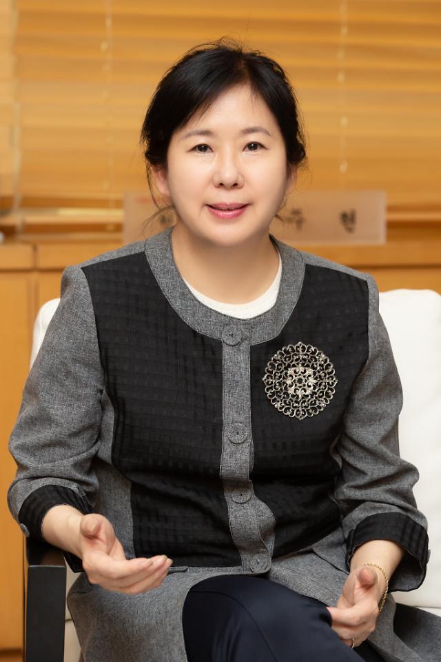 """""""为所有人服务的设计是追求的梦想""""——韩国设计振兴院院长尹紬县专访"""