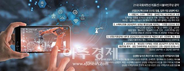 [Post Corona, First Korea!] ①與 개원 직후 스마트 산단에 드라이브…文정부 혁신성장 이끈다
