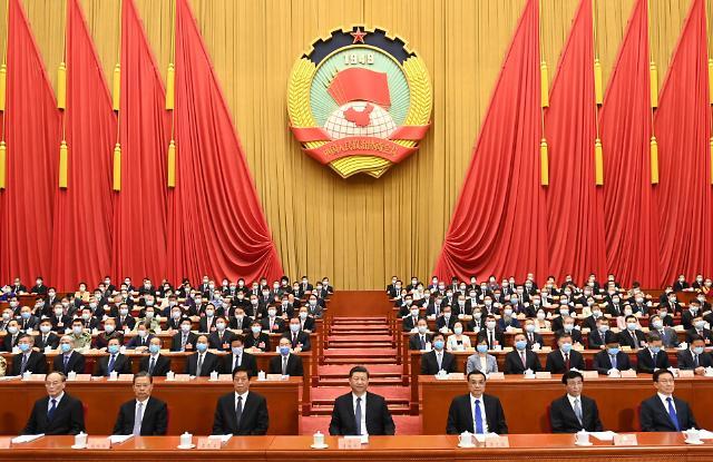 [2020 양회] 시진핑 등 최고지도부만 노 마스크