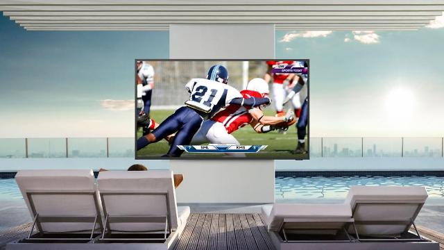 Samsungs first outdoor 4K QLED smart TV makes debut in North America