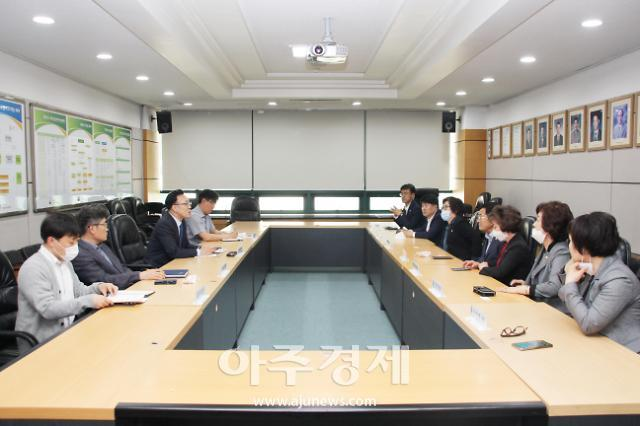 연천군의회, ㈜북서울 폐기물처리사업계획과 관련하여 한강유역환경청장 면담