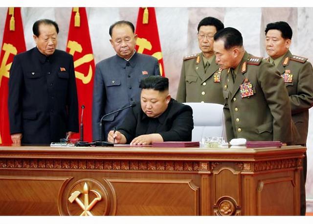 朝鲜巩固核战争遏制力