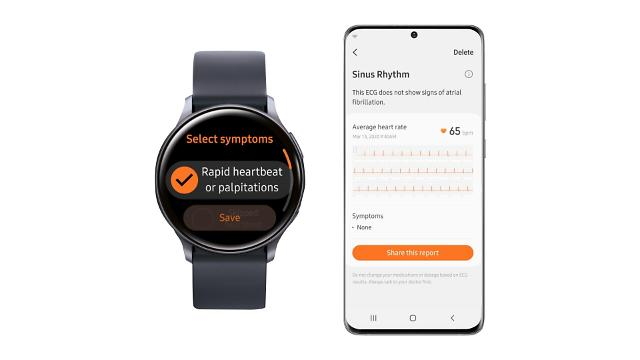Samsungs smartwatch electrocardiogram function wins state approval for domestic use