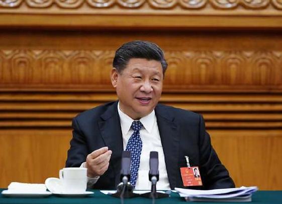 """후베이 대표단 만난 시진핑 """"코로나19로 中보건체계 역할 속 단점도 노출"""""""