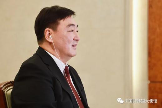 """싱하이밍 中대사 """"한중, 상호 존중해온 우호국...홍콩 문제도 마찬가지"""""""