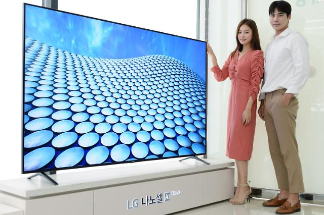 LG전자, 나노셀 AI 씽큐 라인업 확대…프리미엄 TV 시장 공략 가속도
