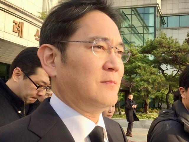 이재용 삼성 부회장 검찰 출석... 밤늦게까지 조사 계속 될 듯