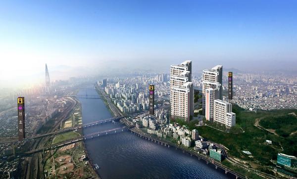 5호선 광나루역 도보 5분…개발 호재 예고된 지역주택조합 아파트 '한강 광장' 눈길