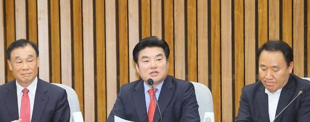 韩国最大在野党及其外围政党决定合并
