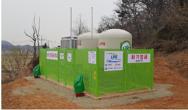 인천시, 도시가스 미보급 농·어촌 지역 7개 마을에 LPG 소형저장탱크 보급