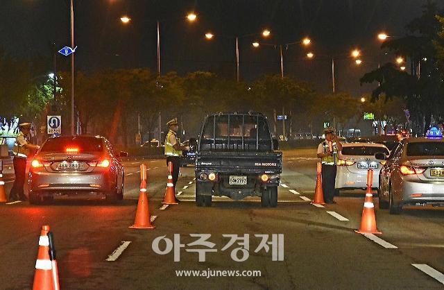 경기북부경찰청 음주운전 분위기 제압 위해 일제 단속 실시 예정