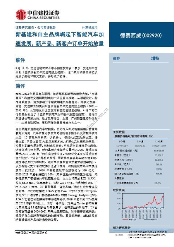 [중국 마이종목]中 신인프라 대규모 투자에 더사이시웨이 실적 맑음
