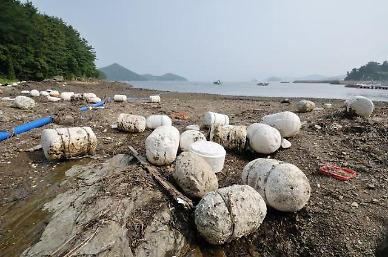 Eco-friendly buoys recommended to replace styrofoam for aquaculture