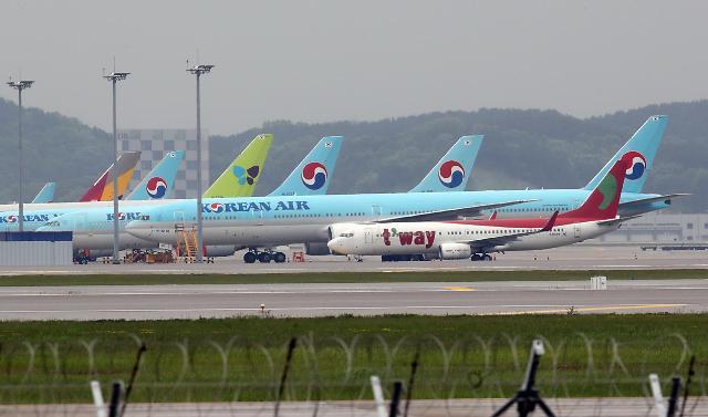 韩航空公司6月将增加重开国际航线