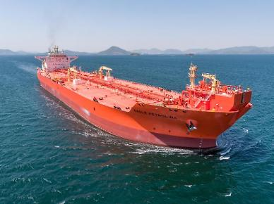 .Samsung Heavy delivers shuttle tanker installed with smart ship system.