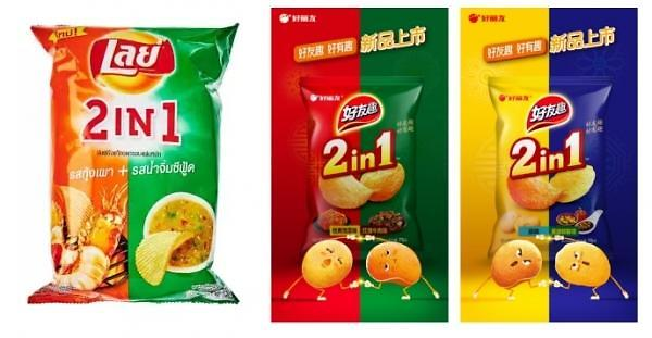 抄袭美国乐事?好丽友中国新产品包装引争议