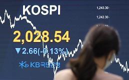 コスピ、外国人の「買い」にも小幅下落・・・2028.54で取引終了