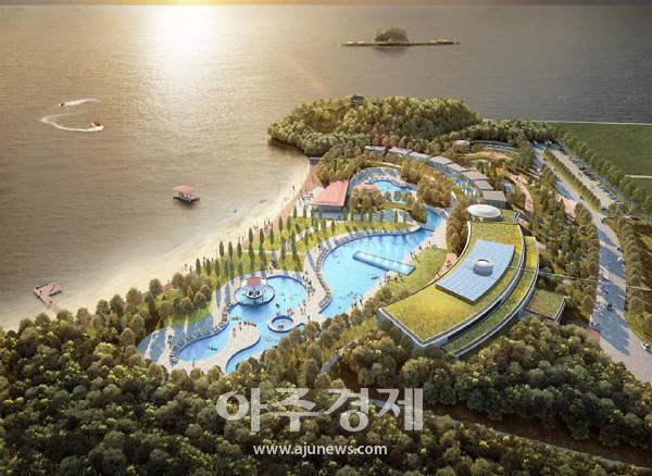 서천군, 한국중부발전 동백정해수욕장 복원 계획 확정 발표