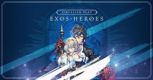 라인게임즈, 모바일 RPG '엑소스 히어로즈' 일본 앱마켓 인기 1위