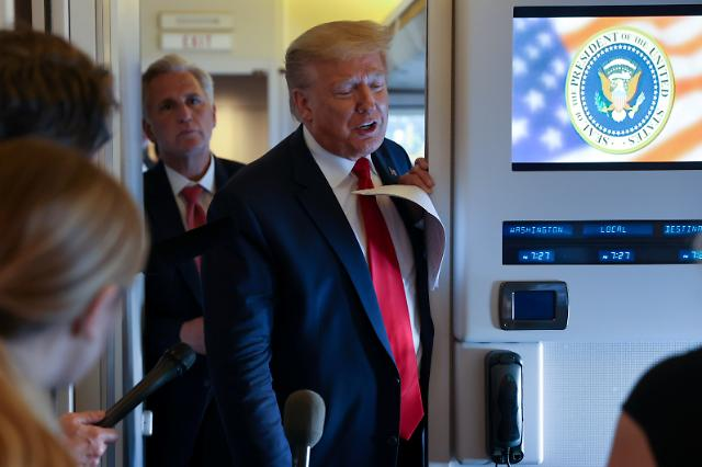 """트럼프 """"G7서 中 논의 위해 한국 등 초청 희망...시기는 9월로 연기"""""""