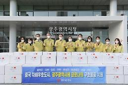 .疫情之下韩光州市与中国友好城市书写真挚友谊.