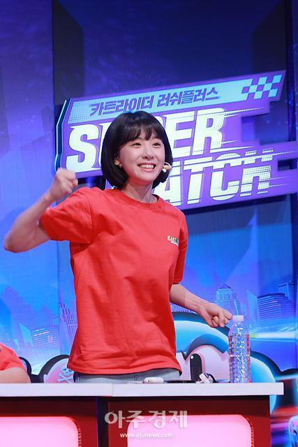 [포토] 김민아, 이겼다!! (카트라이더 러쉬플러스 슈퍼매치)