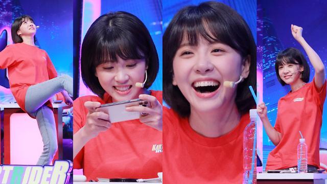[포토] 김민아, 코커의 댄스실력은?
