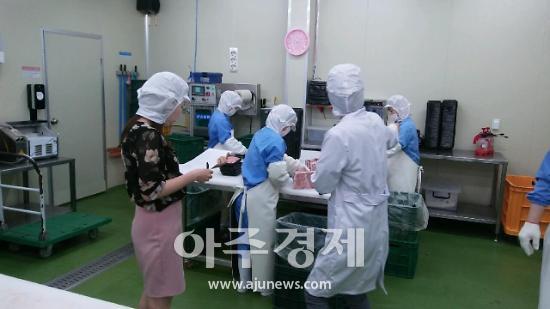 안산시, 학교급식소 식중독 예방 합동점검