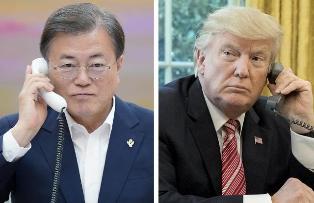 트럼프 '기습 초청'에 응한 文…시진핑 연내 방한 무산되나(종합)