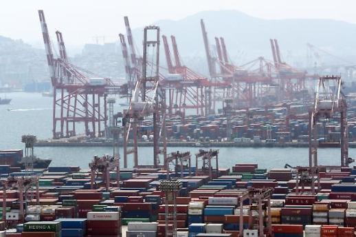 韩5月出口额同比减少近24%