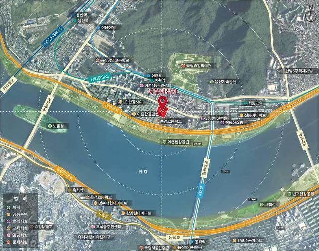 서울 용산구, 이촌동 한강삼익아파트 재건축 인가