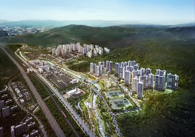 포스코건설·태영건설, 양산 사송신도시에 사송 더샵 데시앙 2차 공급