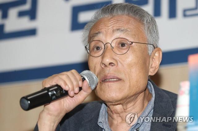 """황석영 """"한국문학에 빠져 있었던 산업노동자 삶 다뤘다"""""""