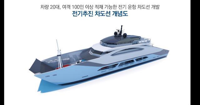 2024년 민관 손잡고 전기 추진 여객선 개발한다