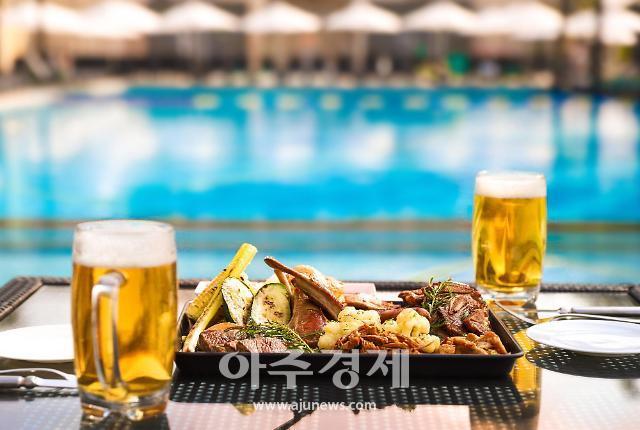 반얀트리 서울, 야외 수영장 오아시스 바비큐 패키지 판매
